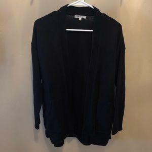 Madewell Black Sweater Cardigan